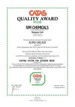 Certifikace CATAS Quality Award PN410 - PN6/colore