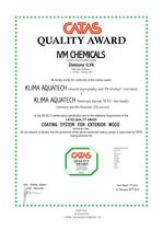 Certifikace CATAS Quality Award - PN3/colore - TN931